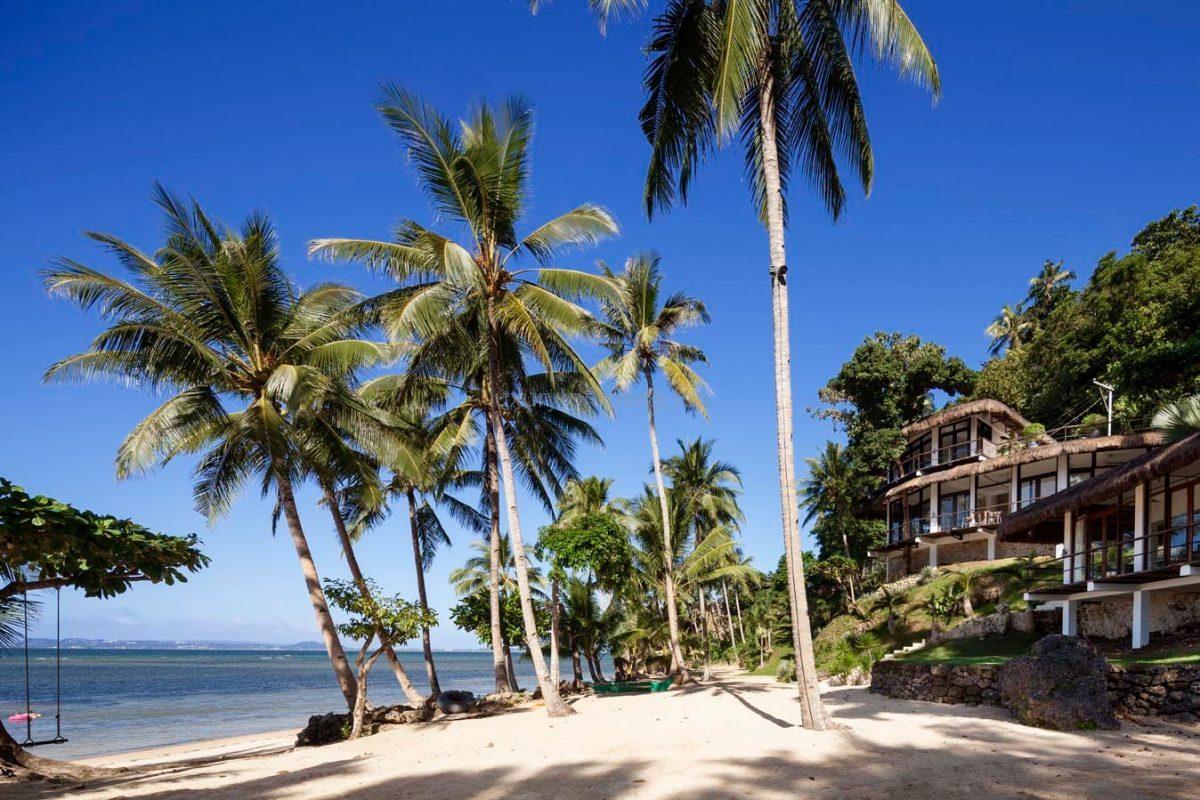 House with beach in boracay paradise