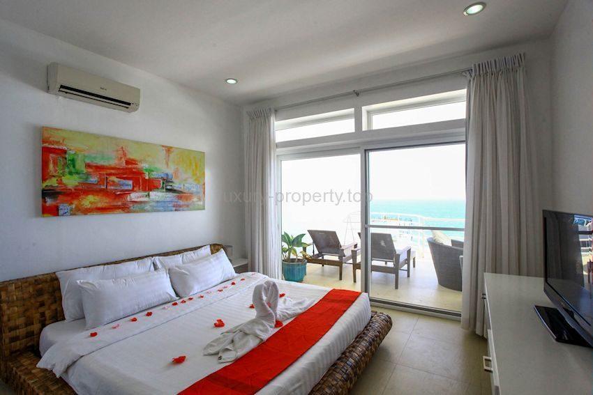 master bedroom kitchen dining lounge Apartment Bulabog Boracay