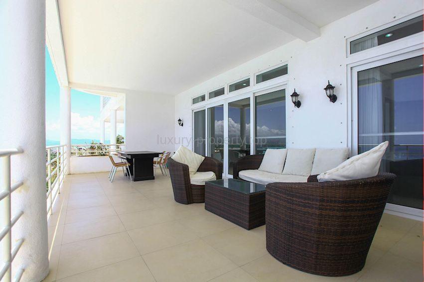 veranda with sea view Bulabog Boracay