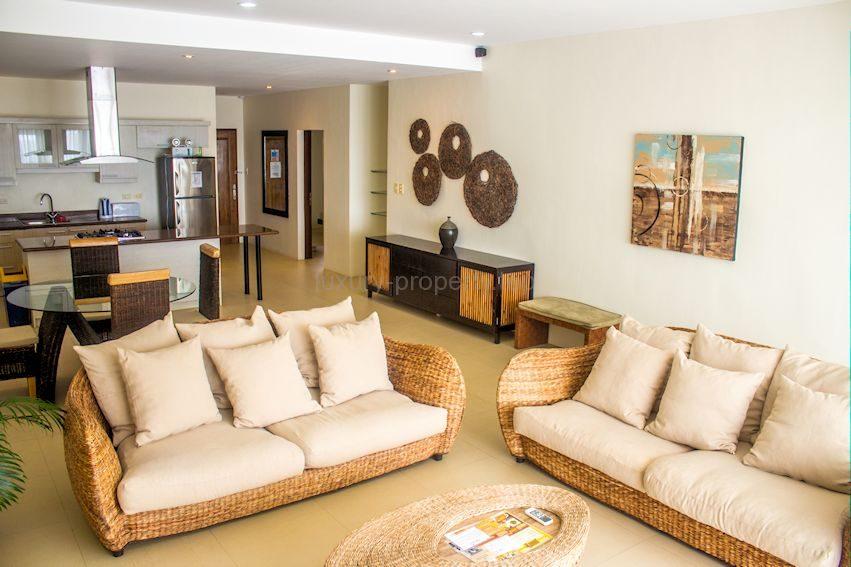 Living area Cohiba villas