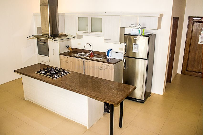 kitchen with extractor