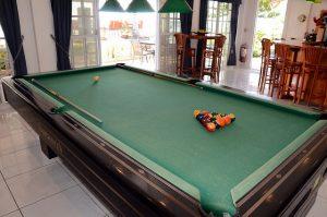 Pool room and bar