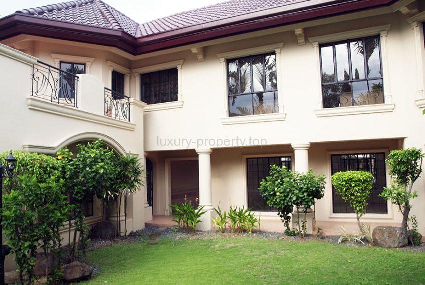Alabang Village lawn