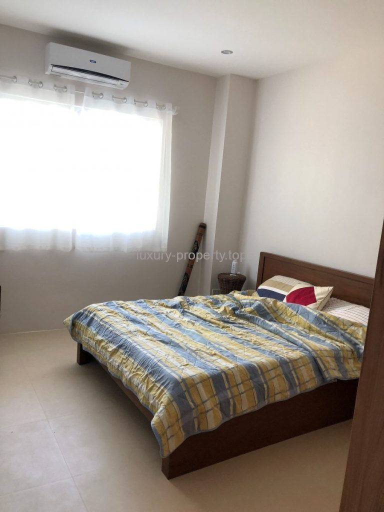 spacious master bedroom Boracay New luxury 3 bed-apartment